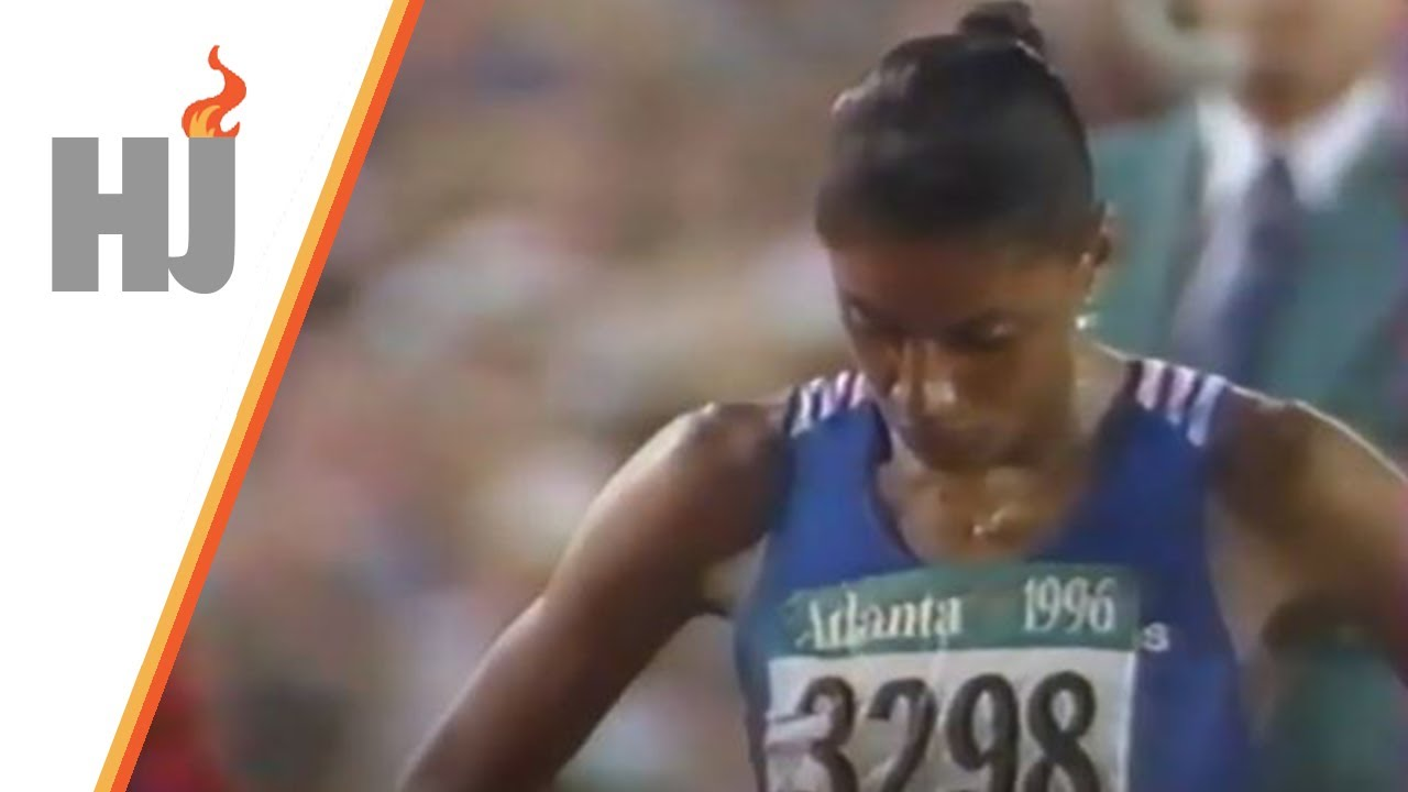 Download 1996 Atlanta - Finale 200m dames, PEREC en or !