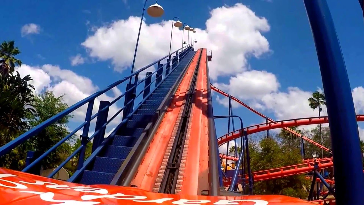 Scorpion On Ride Pov Front Seat Busch Gardens Tampa Youtube