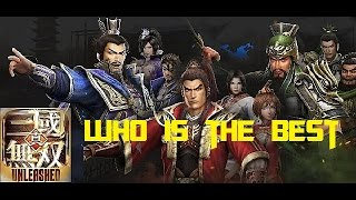 Dynasty warriors unleashed who is the best officer?
