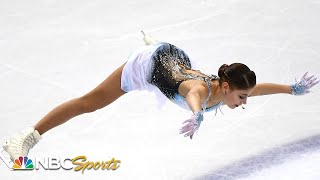 Alena Kostornaia soars into first after Grand Prix Final short program   NBC Sports