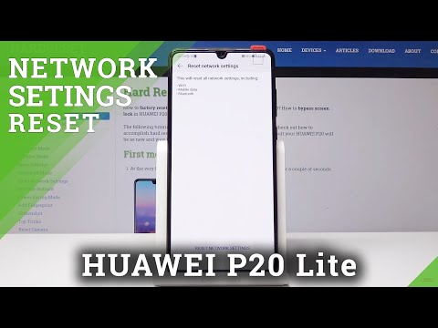 Reset Network Settings HUAWEI P20 Lite - HardReset info