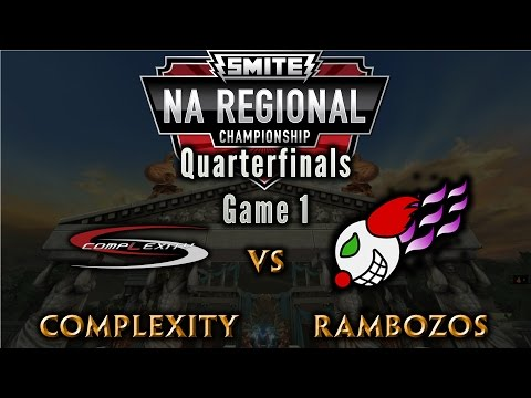 NA Regional Championship QuarterFinals - Complexity vs. The Rambozos (Game 1)