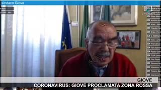 Coronavirus: giove proclamata zona rossa