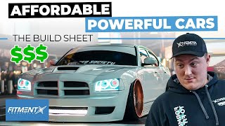 Powerful Cars You Can Afford   The Build Sheet