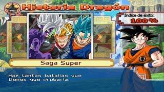 Dragon Ball Z Budokai Tenkaichi 4 - Modo historia MODS  Vegetto SSJ Blue vs Zamasu Fusion Merged