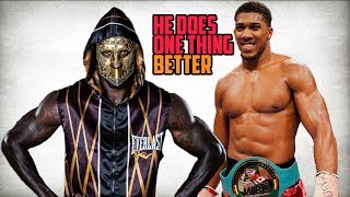 Deontay Wilder Admits Anthony Joshua Better Than Him IN THIS ONE AREA