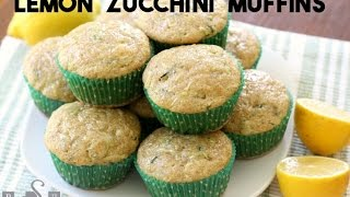 Lemon Zucchini Muffins   Butter With A Side Of Bread