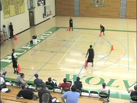 Cone and Tennis Ball Drill to Teach Circle Movement