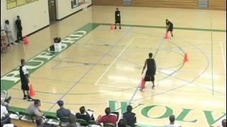 Cone and Tennis Ball Drill to Teach Circle Movement