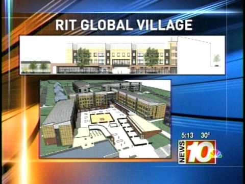 RIT on TV News: Campus Expansion