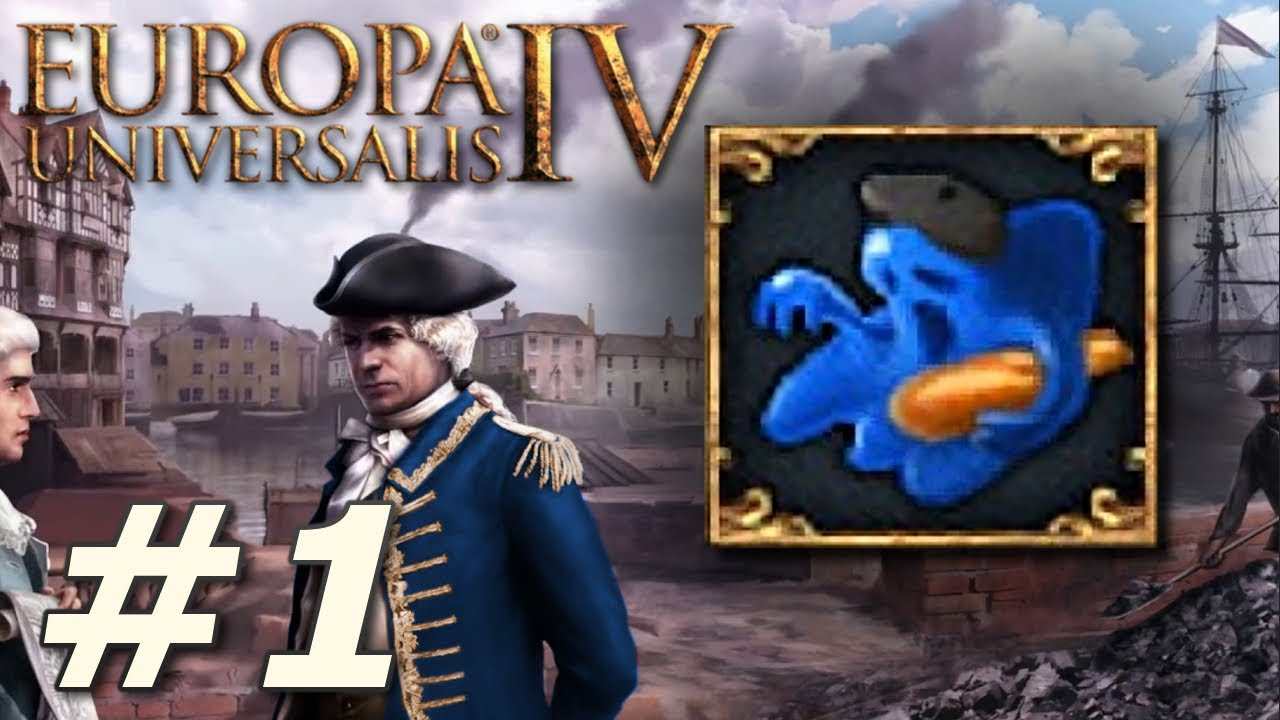 Europa Universalis IV: Rule Britannia | Big Blue Blob – Part 1
