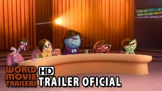 Divertida Mente Trailer Oficial Legendado (2015) - Disney Animação HD