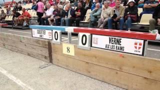 Finales France Quadrette et Triple, Sport Boules, Chambéry 2014