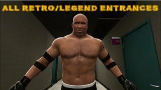 WWE 2K14 | All Retro/Legend Entrances