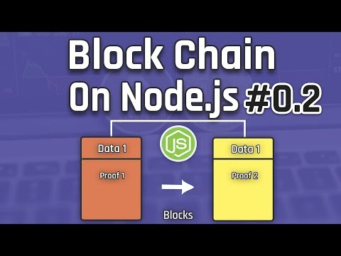 Let's Create a BlockChain on Nodejs With MongoDB 02