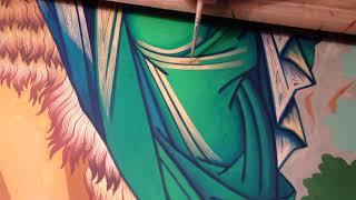 Мастер Класс по Написанию Драпировок Обучение Прописи Твореным Золотом Ангел Пустыни Сумская Икона