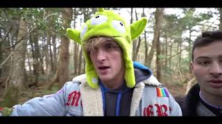 Logan Paul showed his child fans a body