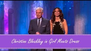 Christine Bleakley wears Girl Meets Dress for Dancing On Ice 12/1/14
