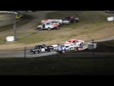Trevor Baker in the #25 Stock car wins the MCSA Nebraska Cup A Feature at Eagle Raceway on 8 September 2019! - dirt track racing video image