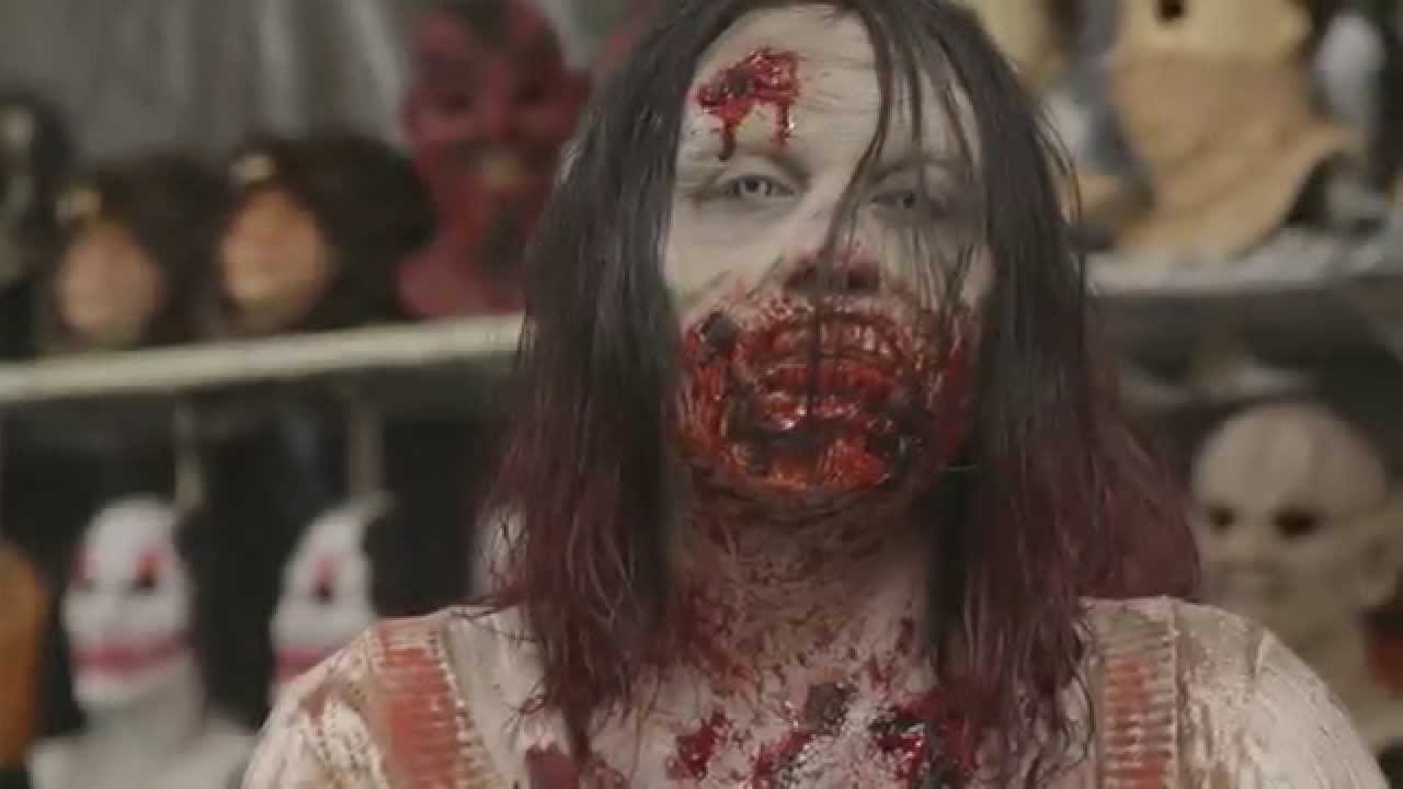 HAUNTERS The Movie - Zombie Makeover HHN CLIP