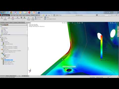 How to Determine Weld Sizing and Analyze Strength with SOLIDWORKS Simulation