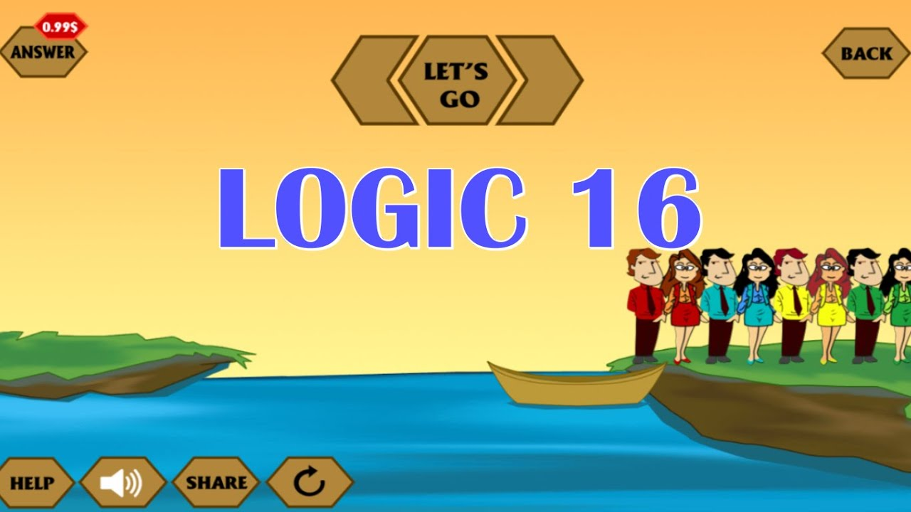 River Crossing IQ Game Logic YouTube - River game