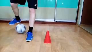 Тренировка по мини футболу футзалу дома 1