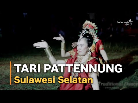 Tari Pattennung (Traditional Dance of South Sulawesi)