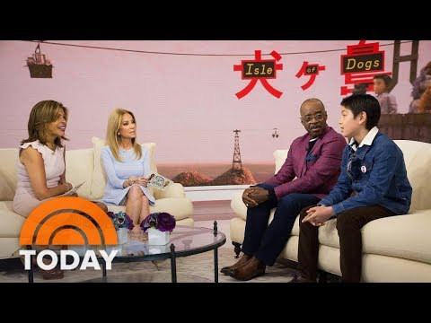 'Isle Of Dogs' Stars Courtney B. Vance And Koyu Rankin On We Anderson's New Animated Movie | TODAY en streaming