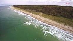 Ostsee bei Graal-Müritz in 4K Luftaufnahmen