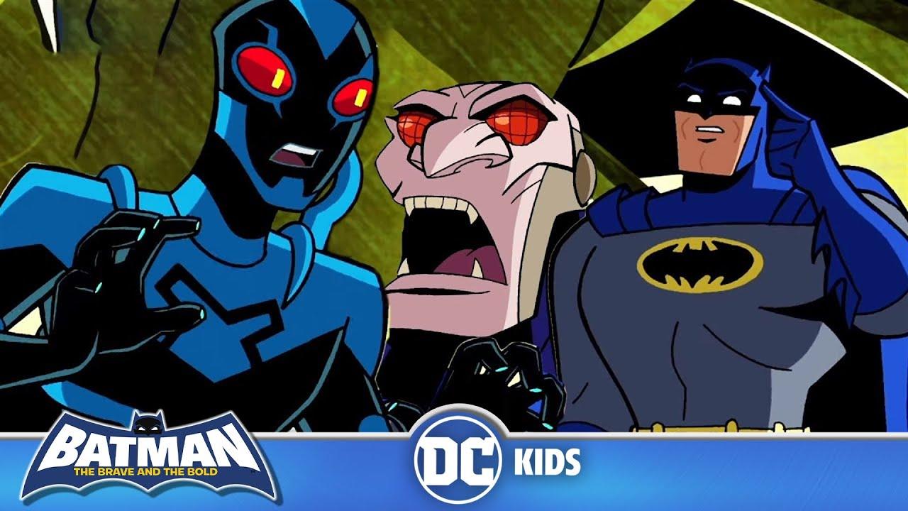 Batman: The Brave and the Bold En Latino | Escarabajo Azul le salva la vida a Batman | DC Kids