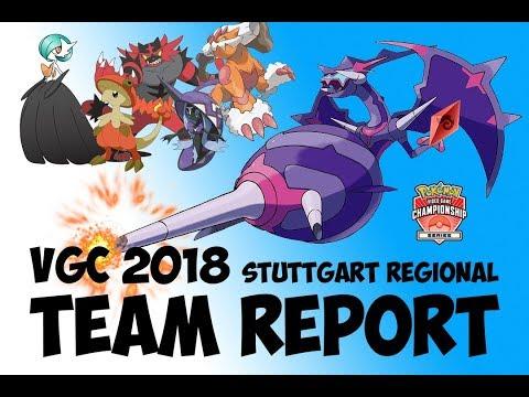 VGC 2018 Team Report: Stuttgart Regional Mega Gardevoir