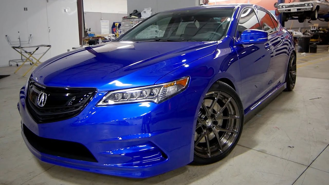 Galpin Auto Sports Acura TLX | 2014 SEMA Show - YouTube