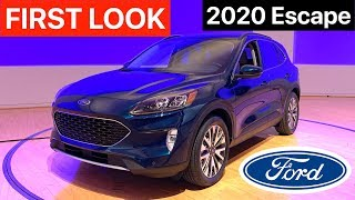 2020 Ford Escape FIRST LOOK