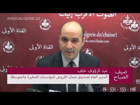 عبد الرؤوف خلف المدير العام لصندوق ضمان القروض للمؤسسات الصغيرة والمتوسطة