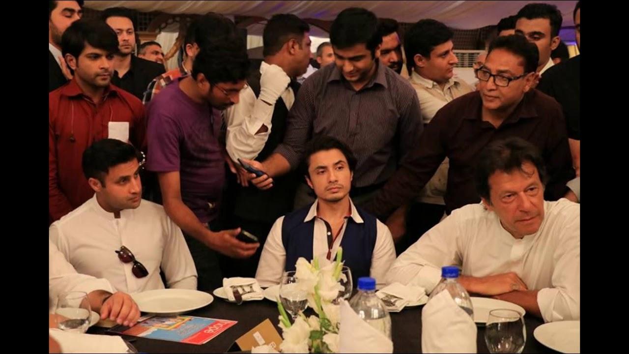 Image result for imran khan and ali zafar