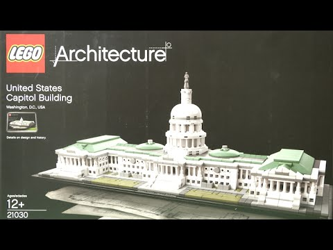 LEGO Architecture United States Capitol Building from LEGO