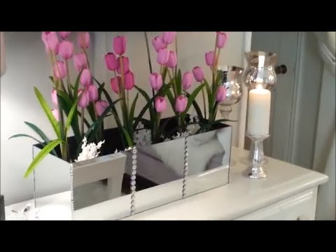 Flower Mirror Box | Dollar Store DIY