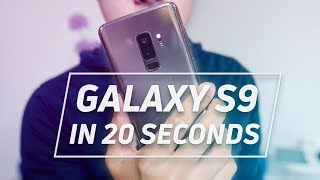 The Galaxy S9 in 20 Seconds with Android Central, GadgetMatch, Engadget, and more
