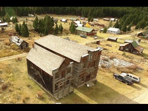 Elkhorn – A Montana Ghost Town HD – near Boulder, Montana MT