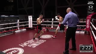 Георгий Челохсаев VS Леонардо Фабио Амитрано | Полный бой | Мир бокса