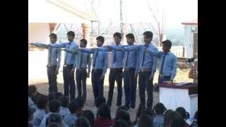 Maa Jinwani Public School Pushpgiri Teerth Ach Shree Pushpdant Sagar ji Pravachan jan 2012