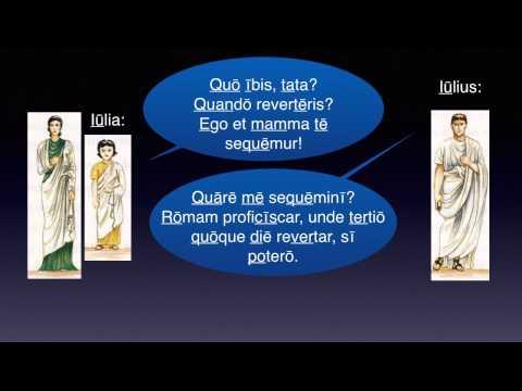 Cap. 08 – TABERNA ROMANA – Lēctiō 2 from YouTube · Duration:  4 minutes 45 seconds
