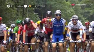 Велоспорт  Тур де Франс  2 й этап 1 часть
