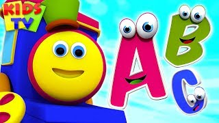 Alphabet Ride with Bob The Train | Nursery Rhymes & Baby Songs by Kids TV