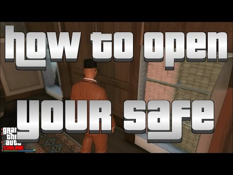 GTA V Online - How To Open Your Office Safe And Gun Locker (Custom Weapon Loadout)