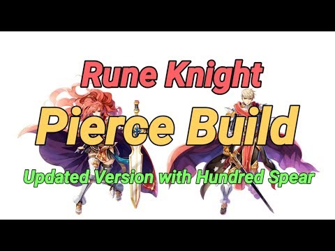 Rune Knight Pierce Build + Hundred Spear Full Guide Ragnarok Mobile