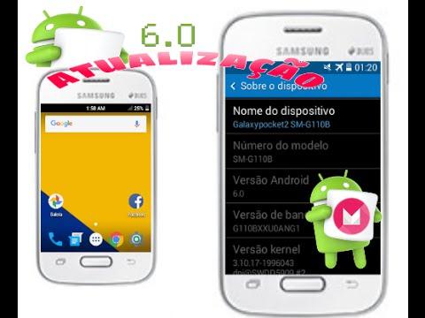 🔵Como atualizar o android do galaxy pocket 2