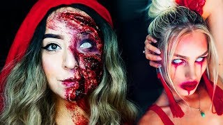 15 Cool DIY Halloween Makeup IDEAS + 2 Last Minute DYI Ideas