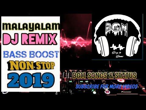 MALAYALAM DJ REMIXES 2019 JBL NONSTOP BASS BOOST MIXING WITH BGM MIXER